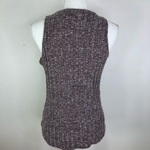Hollister Tops - Hollister Sleeveless Ribbed Sweater stretchy marle
